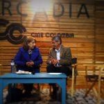 """Presentación de """"El perpetuo exiliado"""", en la FILBO 2016, a cargo de Luz Mary Giraldo, Bogotá, abril 23, 2016"""