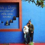 En la casa de Frida Khalo, México, Octubre de 2006.
