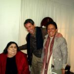 Junto a Mercedes Sosa, en su última presentación en Quito, Octubre de 2007.