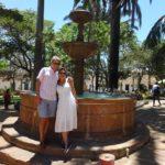 En Barichara, Santander, con Alina, Octubre de 2015.
