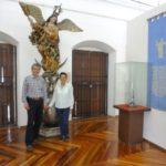 En el Museo de Arte Religioso, Popayán, Colombia, Abril 2016.