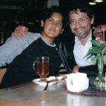 Con Sebastián, Jerusalén, Israel, 2004.