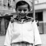 A los 4 años en Cuenca, 1963.