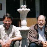Con Jorge Aguilar – Mora, en Quito, 2002.