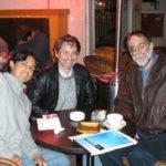 Junto a Yaron Avitov y Sebastián Vallejo, Tel-Aviv 2005.