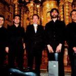 Con el Alart Quartet, en la Iglesia de la Compañía, la noche de la presentación de Missa solemnis, marzo 17 de 2008.
