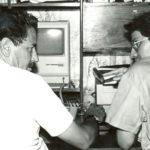 Con Luis Parodi Valverde, entrevista para la preparación del libro EMELEC, cuando la luz es Muerte, enero de 1988.
