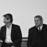 Recital poético en la Tertulia Literaria de Gloria Luz Gutiérrez, Bogotá; febrero 3, 2015. Con José Luis Díaz-Granados.