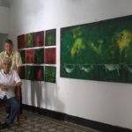 En casa del artista José Luis Quessep, en Sincelejo, el 25 de julio de 2015.