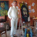 En la CCE, núcleo del Guayas. Montaje en memoria de Humberto Moré, 26 de octubre de 2016.