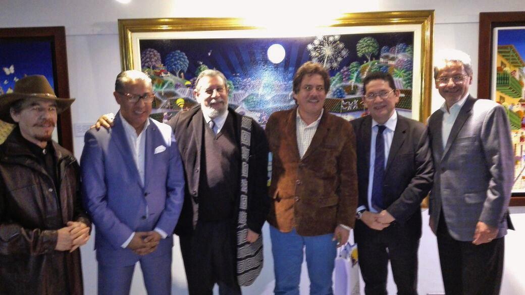 Celebración en Bogotá de Cien años de soledad